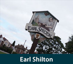 The area of Earl Shilton in Leicestershire