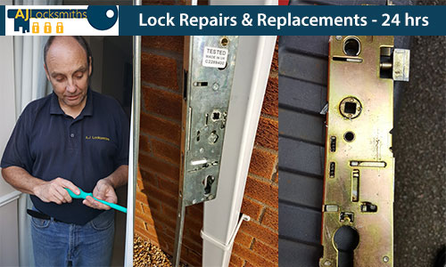 We offer lock replacements and repair services 24 hours a day in case of emergency