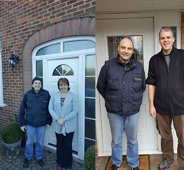 Our happy customers from around the Earl Shilton area