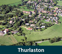 Locksmith Thurlaston Thurlaston from above
