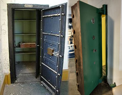 We can remove bank vault doors and locks