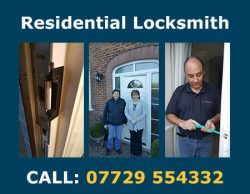 Locksmith Part of our residential locksmith service
