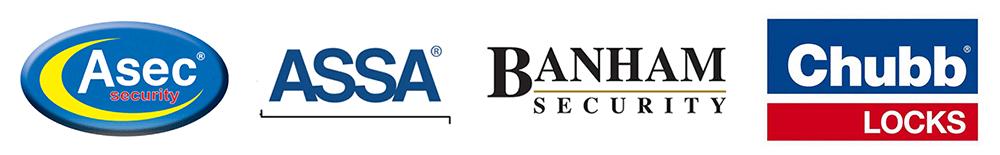 Asec-Assa-Banham-Chubb-Locks-Logos